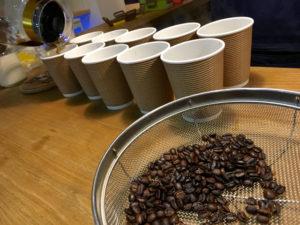 焙煎したての沖縄コーヒー